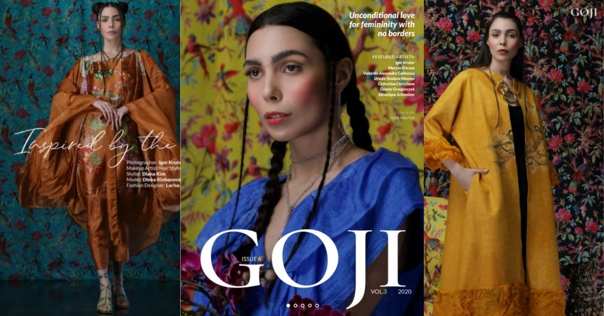 Коллекция одежды Larisa Hadar в fashion-журнале GOJI MAGAZINE